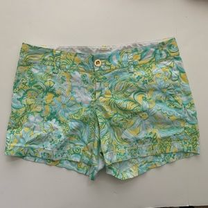 LILLY PULITZER THE CALLAHAN SHORT SIZE 8